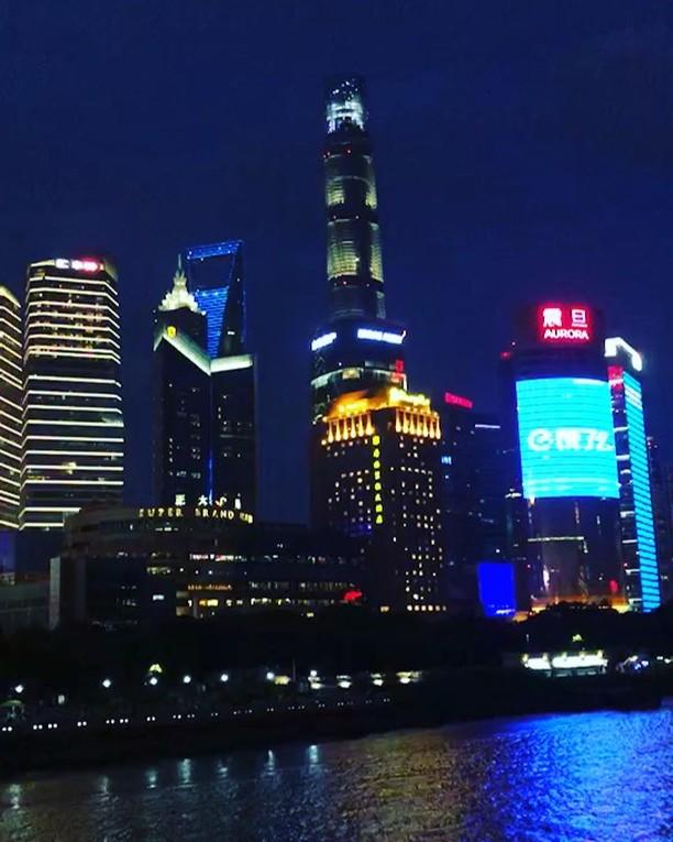 上海黄浦江 #shanghai #huangpujiang #boat #cruise #downtown